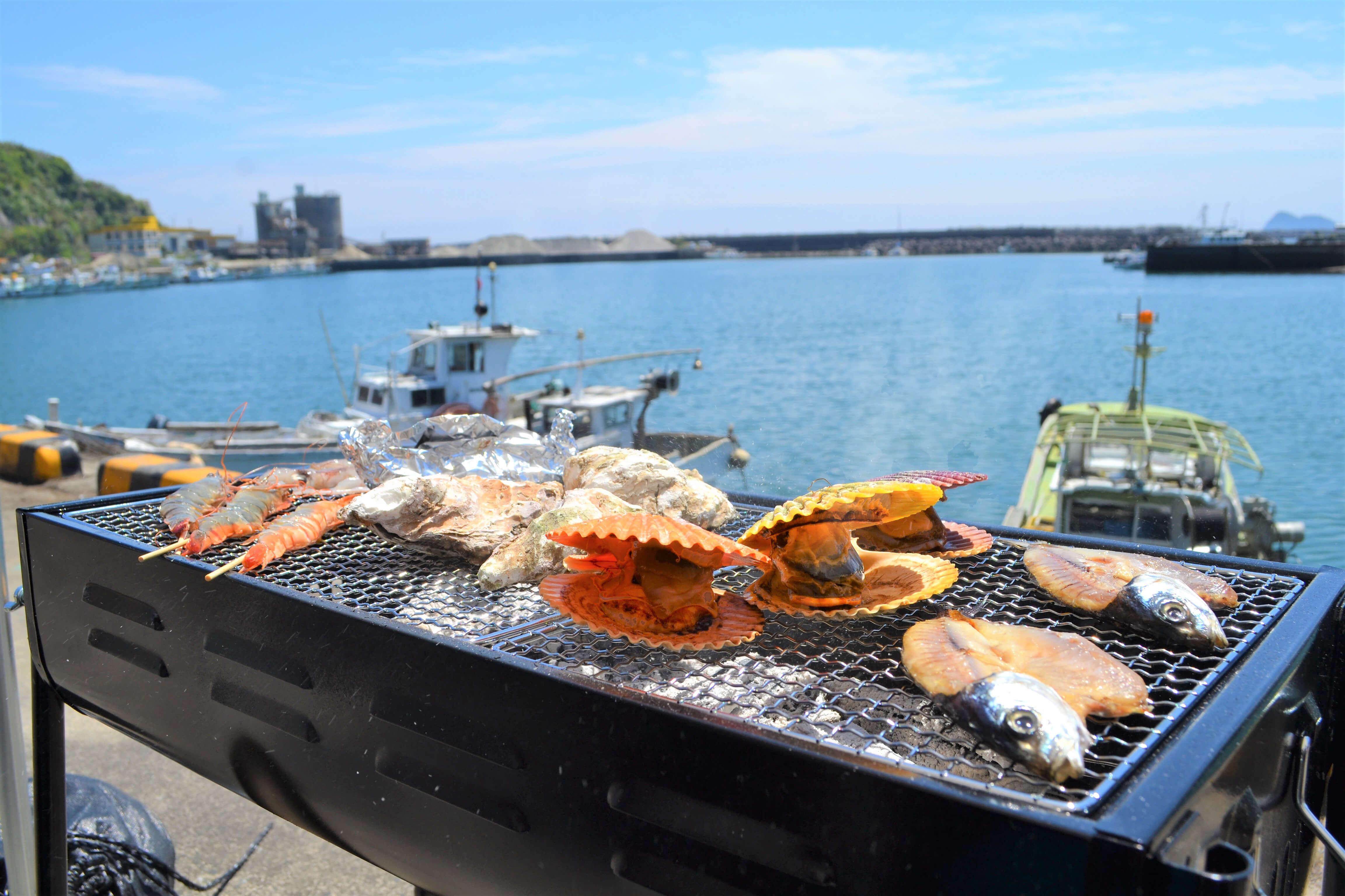 【2020年今年もオープン!】志布志の岩ガキ・ヒオウギ貝が食べれる「漁師飯 勝吉丸」